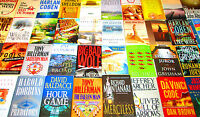 "HARDCOVER/SOFTCOVER MALE AUTHOR BOOK LOT ""Book Club Size"" - INSTANT COLLECTION"