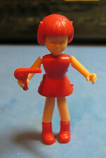 VINTAGE PLASTIC MECHANICAL TAKE-APART DOLL WITH DRYER GUMBALL TOY PRIZE 1960'S