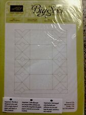 "Sizzix ""CANDY WRAPPER  BIGZ L DIE"" NEW Stampin'UP! NIP - retired- NO LONGER AVAI"