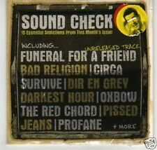 (K685) Sound Check #99, 15 tracks - DJ CD