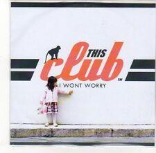 (DL103) This Club, I Won't Worry - 2012 DJ CD