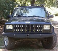 """Jeep Cherokee XJ Front Bumper Non Winch With Tow Point 2"""" Receiving Hitch SALE"""