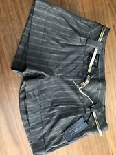 Woman's Brown Smart Shorts Brand New With Tags Size 10