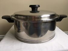 New listing Lifetime Stock Pot 5 Ply T304 Cc Stainless Steel With Lid Measures 10�W X 4�D