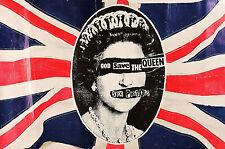 Framed Print - Sex Pistols (Sid Vicious Picture Poster Music Punk Rock Art EMI)