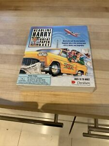 Headline Harry and the Great Paper Race (1991, PC) Big Box