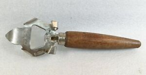 Vintage Ade-o-Matic Bottle & Jar Opener Wooden Handle