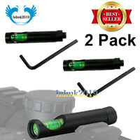 2X Alloy Bubble Spirit Level Anti Cant for 20MM Picatinny Rail Rifle Scope Sight