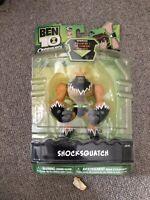 Ben 10 Omniverse Shocksquatch XL figure
