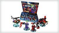 LEGO Dimensions 71229 The Joker Harley Quinn Batman DC Comics Figur Team Pack