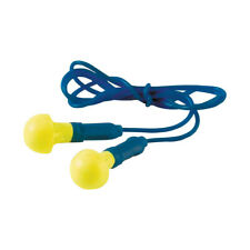 3M EAR EX-01-020 PUSH-INS Reusable Foam Corded 38db Ear Plugs Comfort & Safety