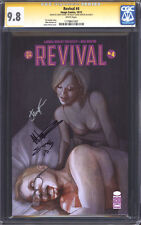 REVIVAL #4 (1st Print) CGC 9.8 SS NM/M / Triple-signed Seeley, Norton & Frison!