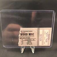 Fleetwood Mac Tingley Coliseum Albuquerque Concert Ticket Stub Vtg Nov 2 1979