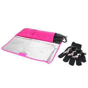 Hot Flat Iron Travel Bag Curling Styling Heat Resistant Pouch Holder Carrier New