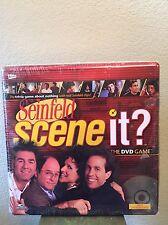 NEW Seinfeld Scene It- DVD Trivia Game Factory Sealed Tin Mattel