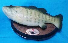 2014 BIG MOUTH BILLY THE BASS SINGING SENSATION MOTION ACTIVATED, 2 SONGS WORKS