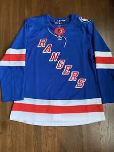 New York Rangers Authentic Adidas Primegreen Home Jersey With Rod Gilbert Patch