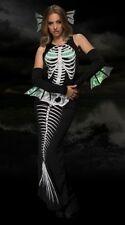 "LEG AVENUE 3 PC ""SKELETON SIREN"" Set Costume Dead Mermaid Halloween Size: SM"