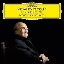 CLAIR DE LUNE - PRESSLER,MENAHEM-DEBUSSY/FAURE/RAVEL   CD NEW+