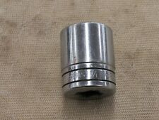 "Snap On 1/2"" Drive 1-1/8"" Shallow 12pt SAE Socket SW361"