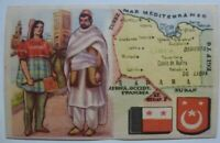 Vintage Cigarettes Card. LIBYA. REGIONS OF THE WORLD COLLECTION. Rare
