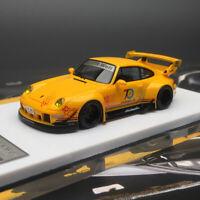 FuelMe 1:64 Porsche RWB 993 911 70th Anniversary Cinderella Limited Car Model