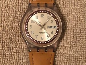 Swatch Watch - Swiss Made / Date/ Day / AG2002