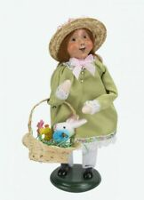 2020 Byers Choice Easter Caroler Girl w/Basket Chick Bunny Spring