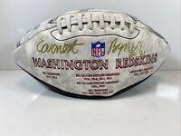 EARNEST BYNER WASHINGTON REDSKINS Autographed Football