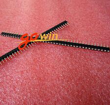 20PCS Strip Tin PCB Female IC Breakable 40pin Single Row Round Header Socket