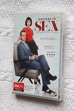 Masters of Sex: The Complete First Season (DVD, 4-Disc set), Like new, free post