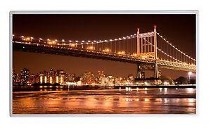 300W Fern Infrarotheizung NY BB farbe Bild Elektroheizung Überhitzungsschutz TÜV