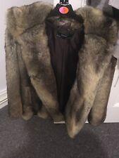 H&M Fur Coat With Hood