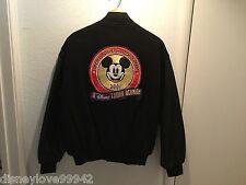 Men's Disneyana Convention Family Reunion DISNEY Bomber Varsity Jacket M Ltd Ed
