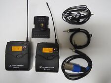 Sennheiser EW100 G3 100 A Wireless Microphone set 516-558 Mhz MINT Pelican Case