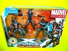 DEADPOOL X Force X Men WOLVERINE WARPATH Marvel Comic book Action Figure 3 pack