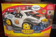 NEW 2003 FISHER PRICE RESCUE HEROES MISSION SELECT POLICE CRUISER VEHICLE
