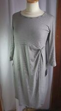 Maternity Oh Baby by Motherhood Dress-M-NWT-Stripes-Stretchy Knit-3/4 Sleeves