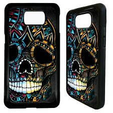 Mayan skull aztec tattoo case cover for Samsung Galaxy S7 S8 S9 s10 s10e plus