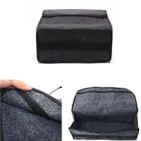 1x Auto Car Trunk Bag Organizer Woolen Felt Storage Box Foldable Cargo Basket
