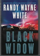BLACK WIDOW Doc Ford Novel Randy Wayne White Inscribed/Signed 2008 First Fn/Fn