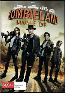 Zombieland Double Tap DVD Region 4 NEW