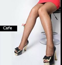Plus Size Pantyhose One Size fits all 18W Nylon Tights Stockings 8264 Fishnets