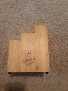 Ginsu Chikara Series 7 Slot  Knife Block Only