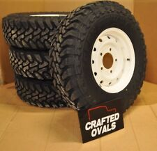Land Rover Defender Toyo Open Country M/T 235/85r16 & Wolf Style Steel rims X 4