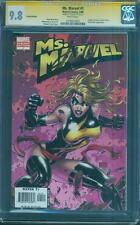 Ms. Marvel 1 CGC 9.8 SS Michael Turner Variant Stan Lee Sign Civil War Movie