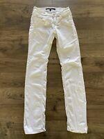 ESCADA SPORT Luca 5004620 White Straight Leg Skinny Jeans Women's Size 34 US 4/6