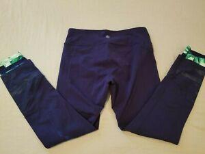 Womens Athleta Pants M Medium Blue Athletic Gym Workout Yoga