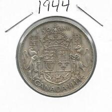 1944 CANADIAN 50 CENT PIECE SILVER (VERY NICE)