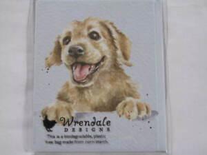 Mini Klappkarte Grußkarte Wrendale Design süßer kleiner Hund